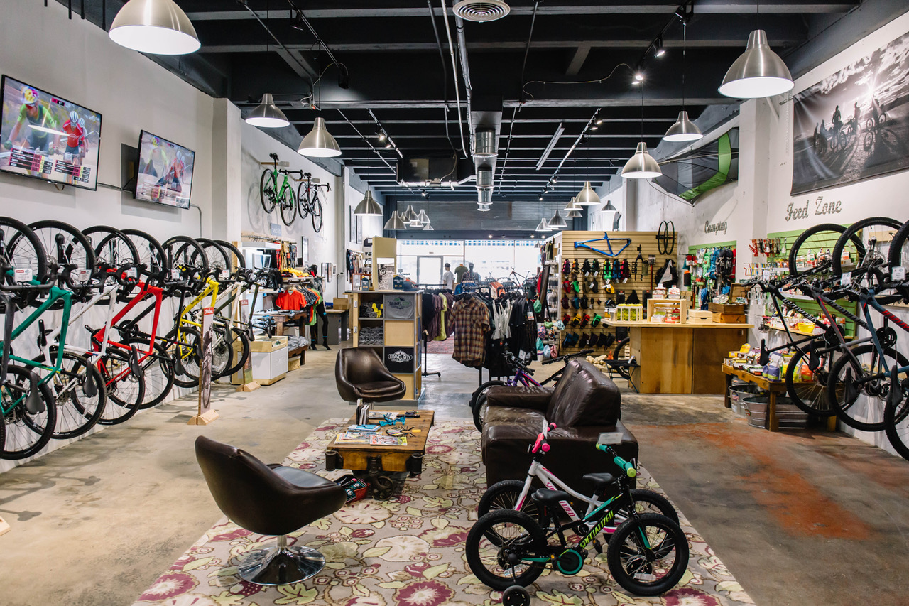 Gravel City Adventure & Supply Co. in Emporia, KS is ground zero for the world-famous Dirty Kanza.