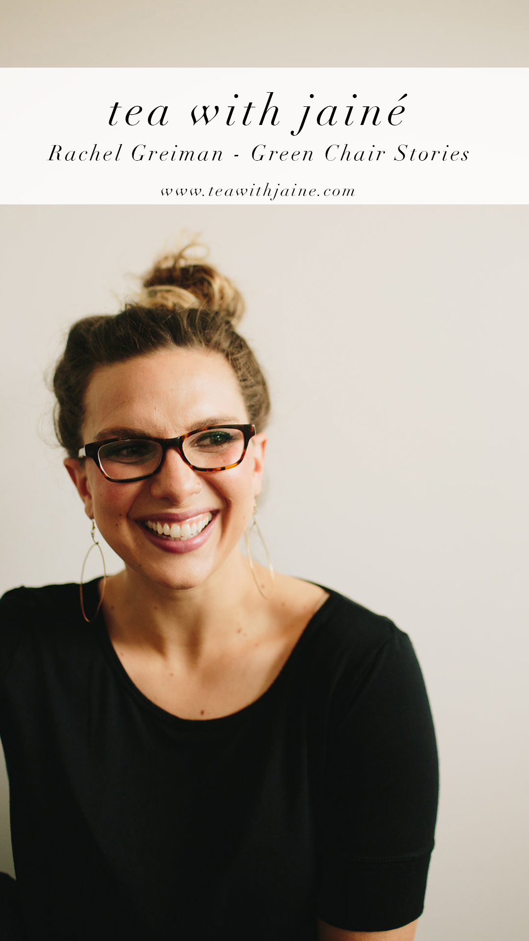 Rachel Greiman of Green Chair Stories - Copywriter