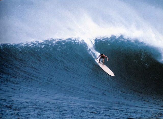 """The high point of my surfing life was the first time I rode a 20-footer at Makaha. Without a doubt. It was my first winter over here, and at that point I really had no business being out in big surf, but I was just so determined to do it. And the very first wave I caught that morning was a 20-footer. I shot down to the bottom, looked up, tried to climb back into the pocket, then just got buried. It was the most memorable wipeout of my life, because I really seriously didn't think I was going to come up. When I finally did make it to the surface, my whole life had changed. That really was the wave of my life. I was screaming, out of my head, all the way to the beach. I caught five waves that day, all 20-footers, and wiped out on all of them. And I loved it. It was the biggest thrill of my life, and I spent the next 30 years trying to recapture the feeling."" Fred Van Dyke • Van Dyke at Sunset Beach. Photo By: John Severson ⠀⠀⠀⠀⠀⠀⠀⠀⠀ ⠀⠀⠀⠀⠀⠀⠀⠀⠀ ⠀⠀⠀⠀⠀⠀⠀⠀⠀ ⠀⠀⠀⠀⠀⠀⠀⠀⠀ ⠀⠀⠀⠀⠀⠀⠀⠀ ⠀⠀⠀⠀⠀⠀⠀⠀⠀ ⠀⠀⠀⠀⠀⠀⠀⠀⠀ #podaloha #aloha #surfing #surf #surflegends #makaha #hawaii #surfhistory #podcast #spiritofaloha"