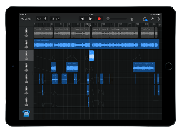 COMPOSED WITH GARAGEBAND
