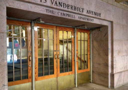 The entrance to The Campbell.