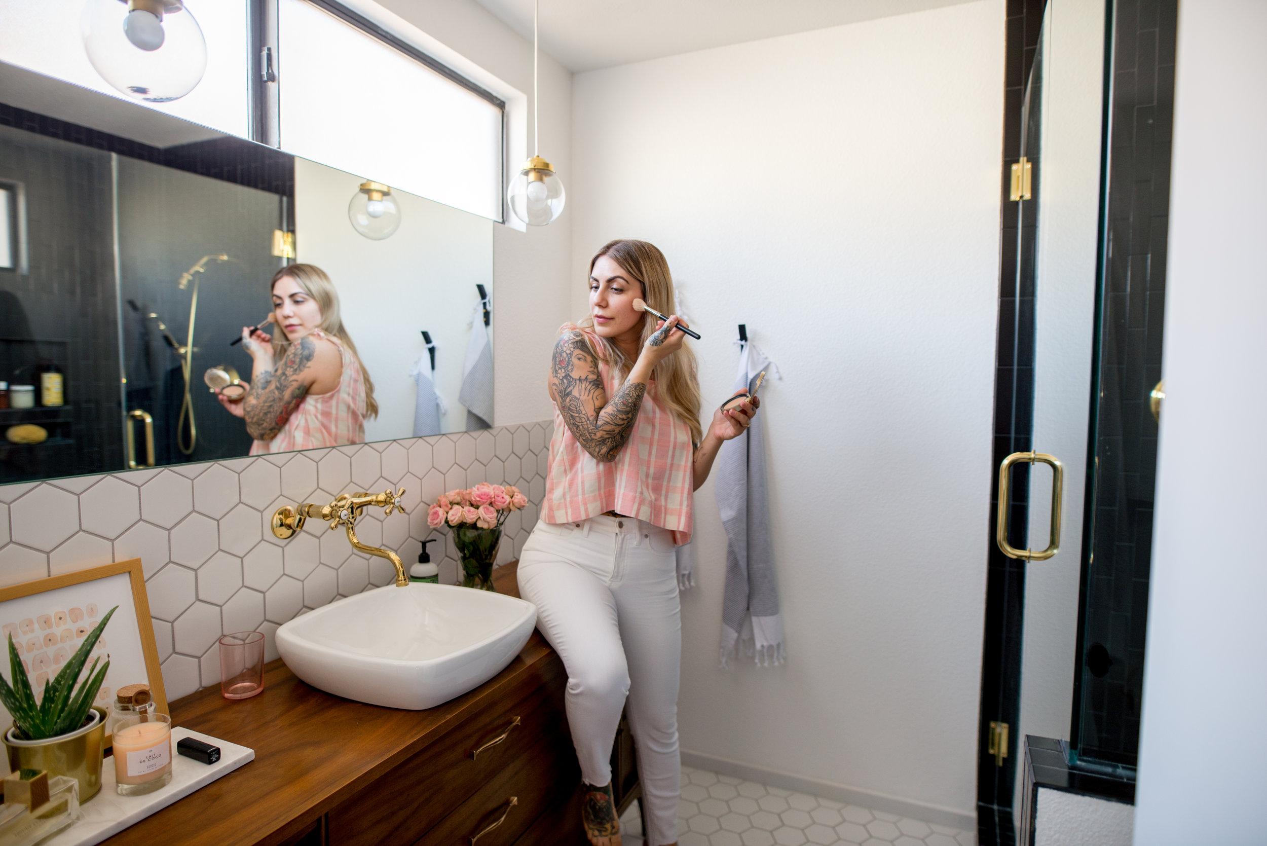 desert dwelling bathroom renovation