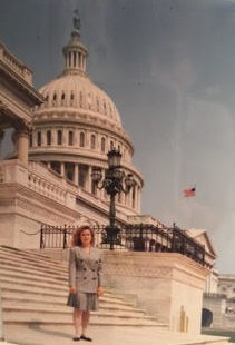 Cruz in Washington c. 1992. via Suzanne Nelson.