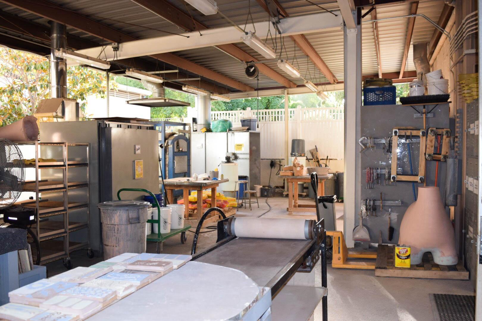 Pitzer Ceramics Studio