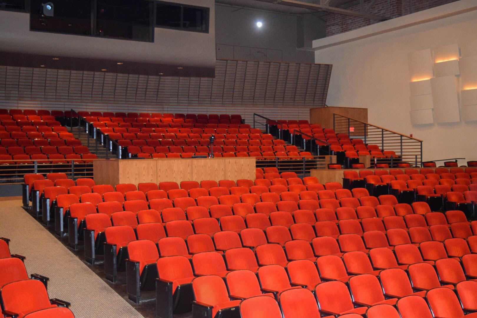 The ensemble performances are held in  Garrison Theater . It has a 630 seat capacity.