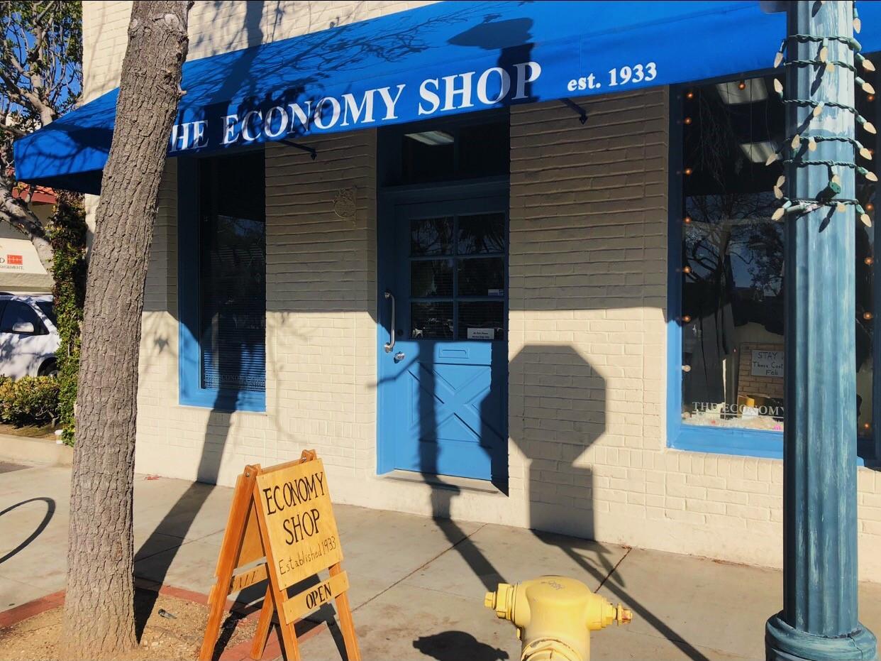 Economy Shop in Claremont Village