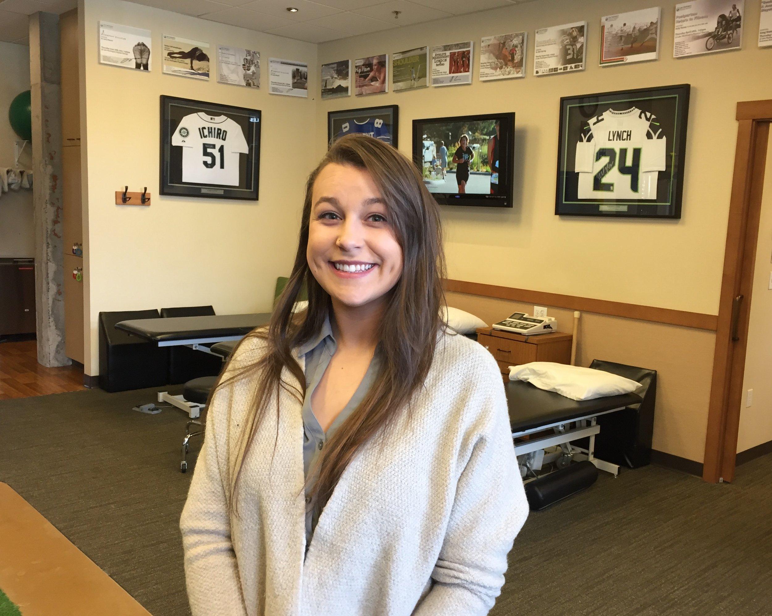 Kamy BrandtAide & Front Office 2016-2019 - High School: Skyline High SchoolCollege: Universtiy of WashingtonPT Program: St. Augustine University San Diego
