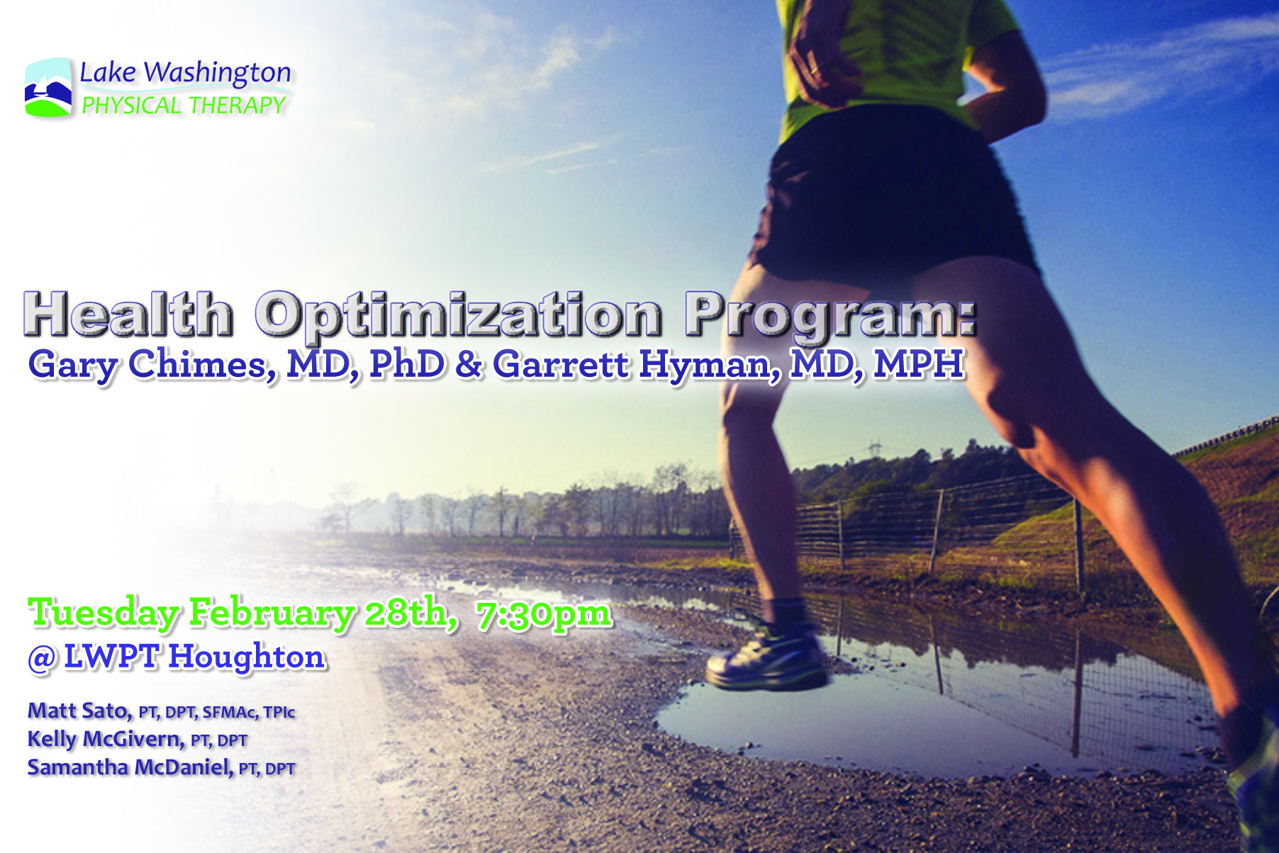 Dr. Gary Chimes, MD & Garret Hyman, MDHealth Optimization - More on Dr. Chimes & Dr. Hyman