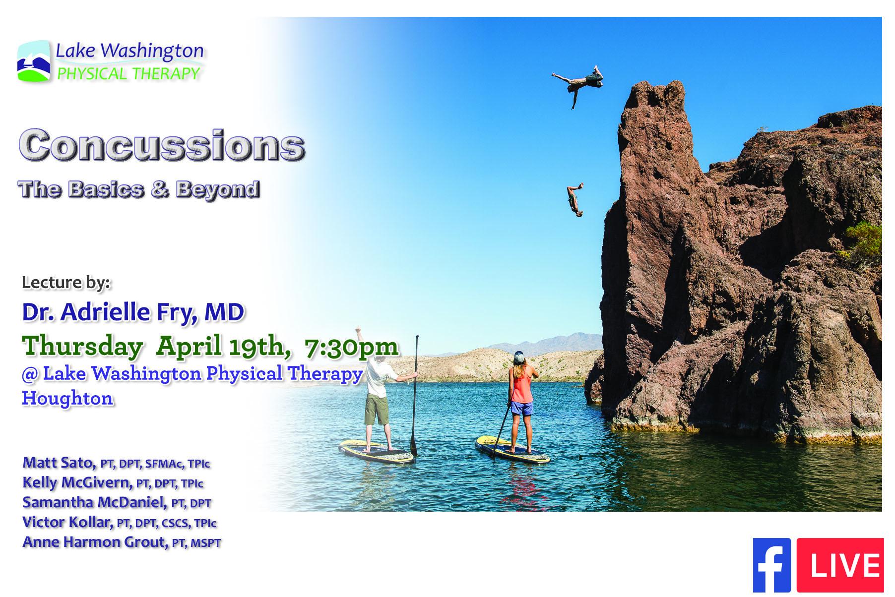 Dr. Adrielle Fry, MDConcussion Lecture - Dr. Fy's Website