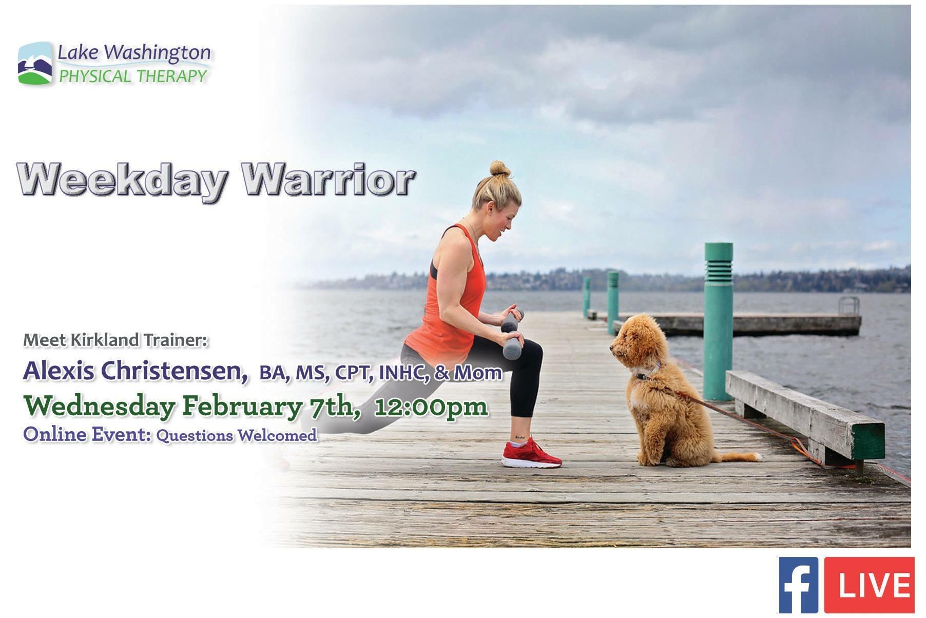 Alexis ChristensenWeekday Warrior - Alexis's Website