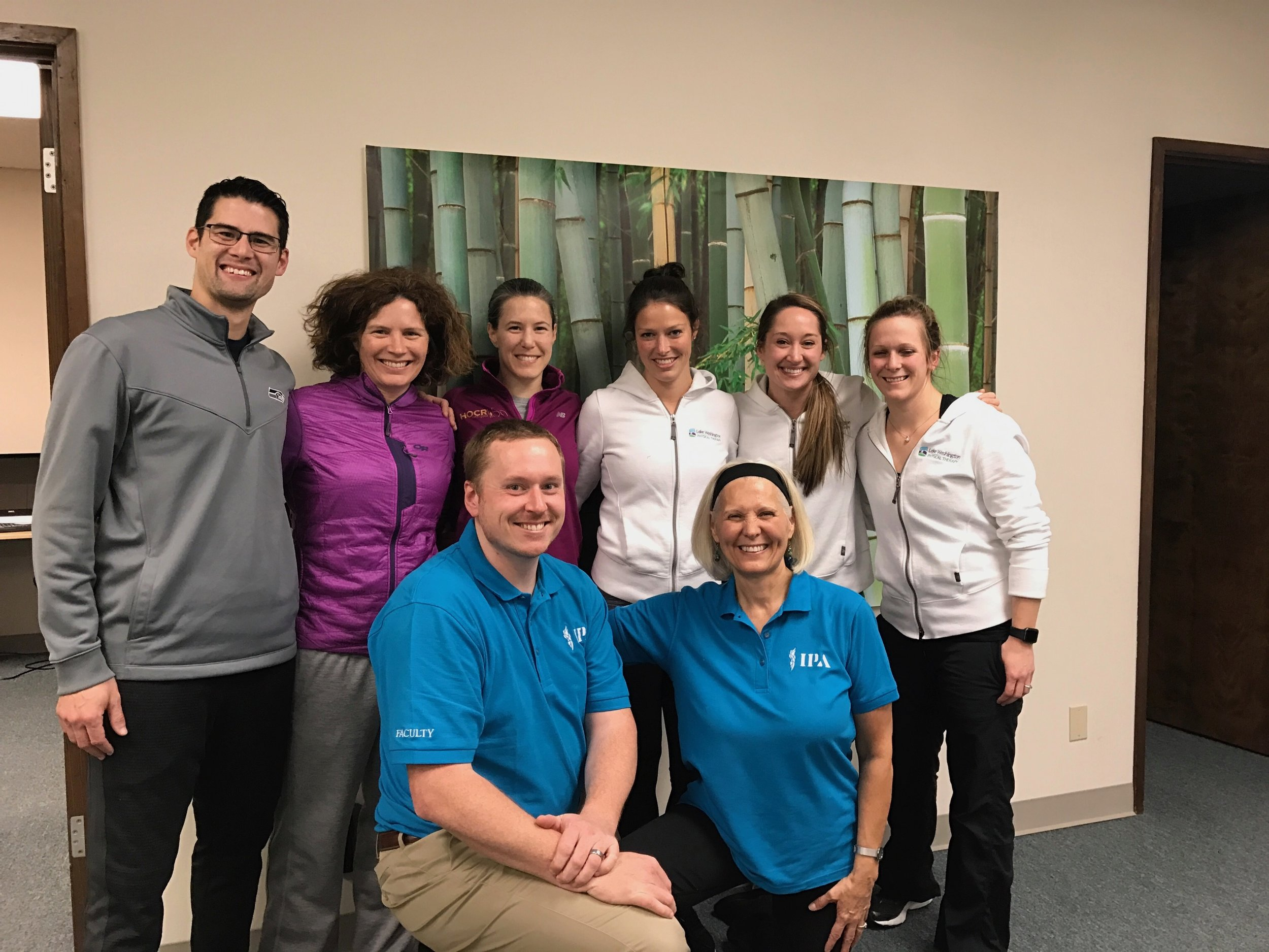 Institute of Physical Arts (IPA) Course - The LWPT team attended level 1 IPA PNF course February 2017
