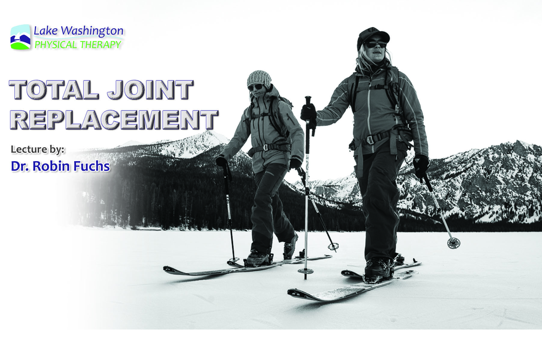 Dr. Robin FuchsTotal Knee Replacement - Dr. Robin Fuchs joined us for a lecture on the latest updates and breakthroughs in total joint replacement. For more on Dr. Fuchs (click here)