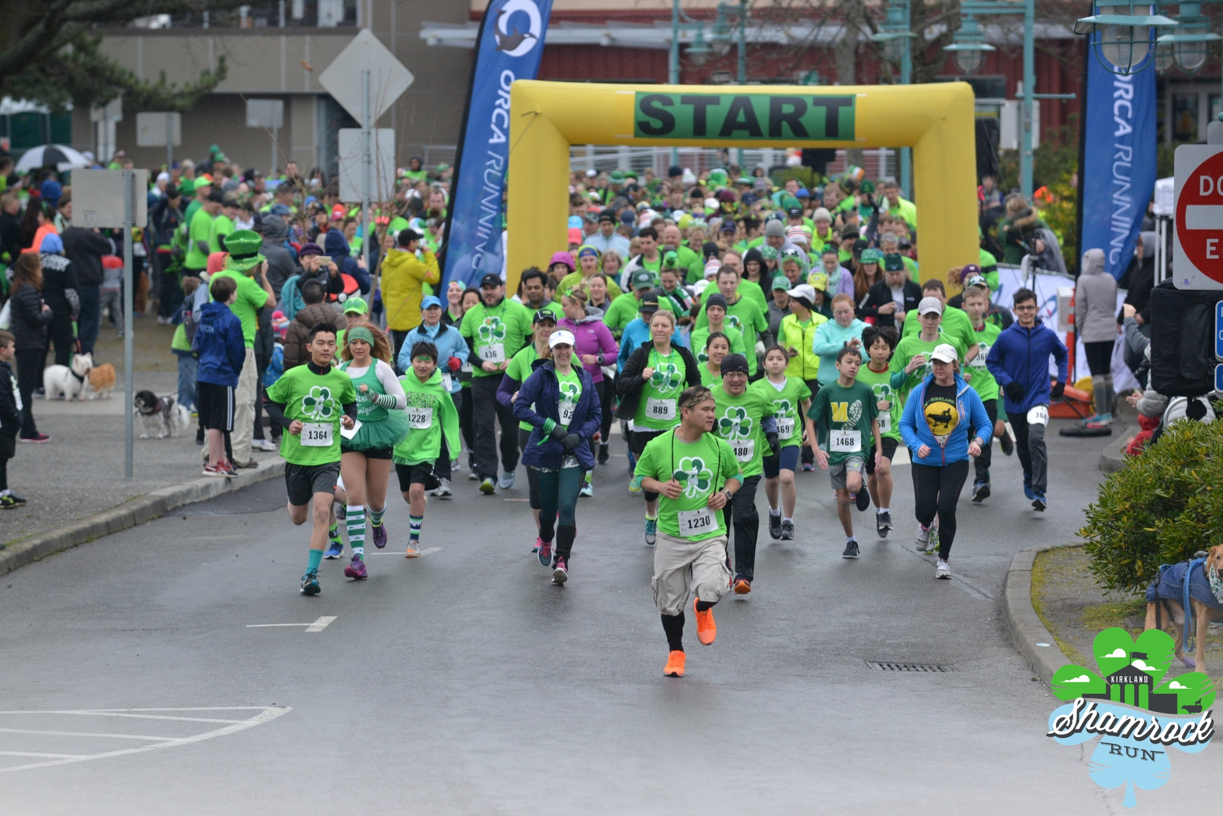 Kirkland Shamrock Run 2018 - We were excited to again be the title sponsor of the 7th Kirkland Shamrock Run which we founded in 2011. Along with runners we helped to donate over $5,000 to local charities.March 2017
