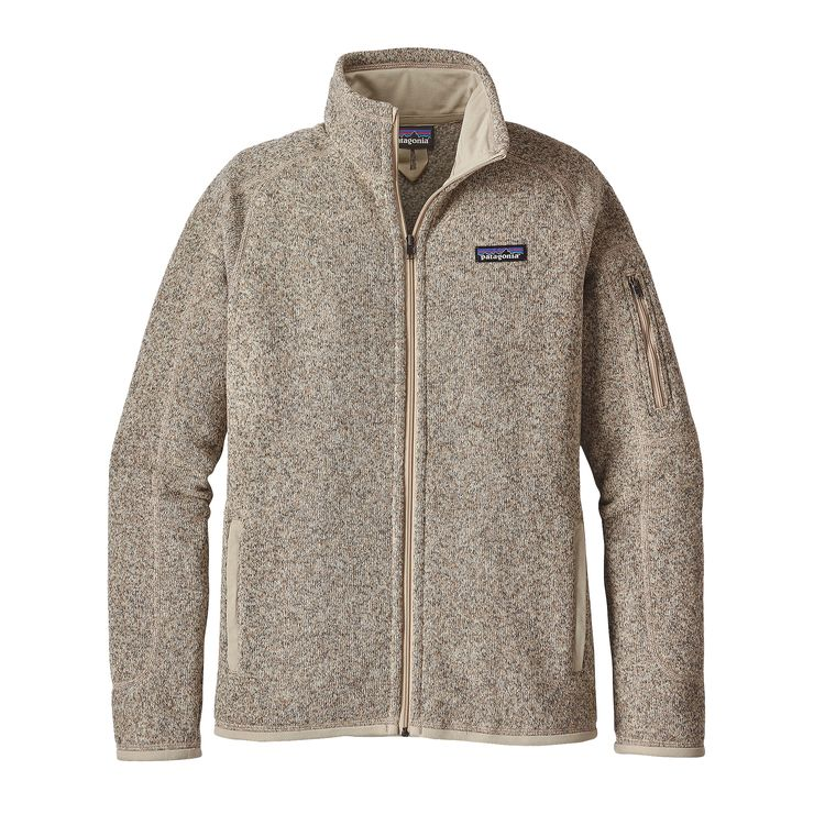 Patagonia Better Sweater - Warm polyester fleece meets your favorite sweater in this full-zip jacket dyed with a low-impact process that significantly reduces the use of dyestuffs, energy and water compared to conventional dyeing methods. Fair Trade Certified™ sewn.
