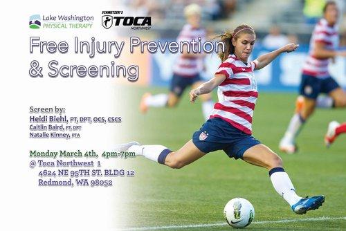 Soccer — Lake Washington Physical Therapy