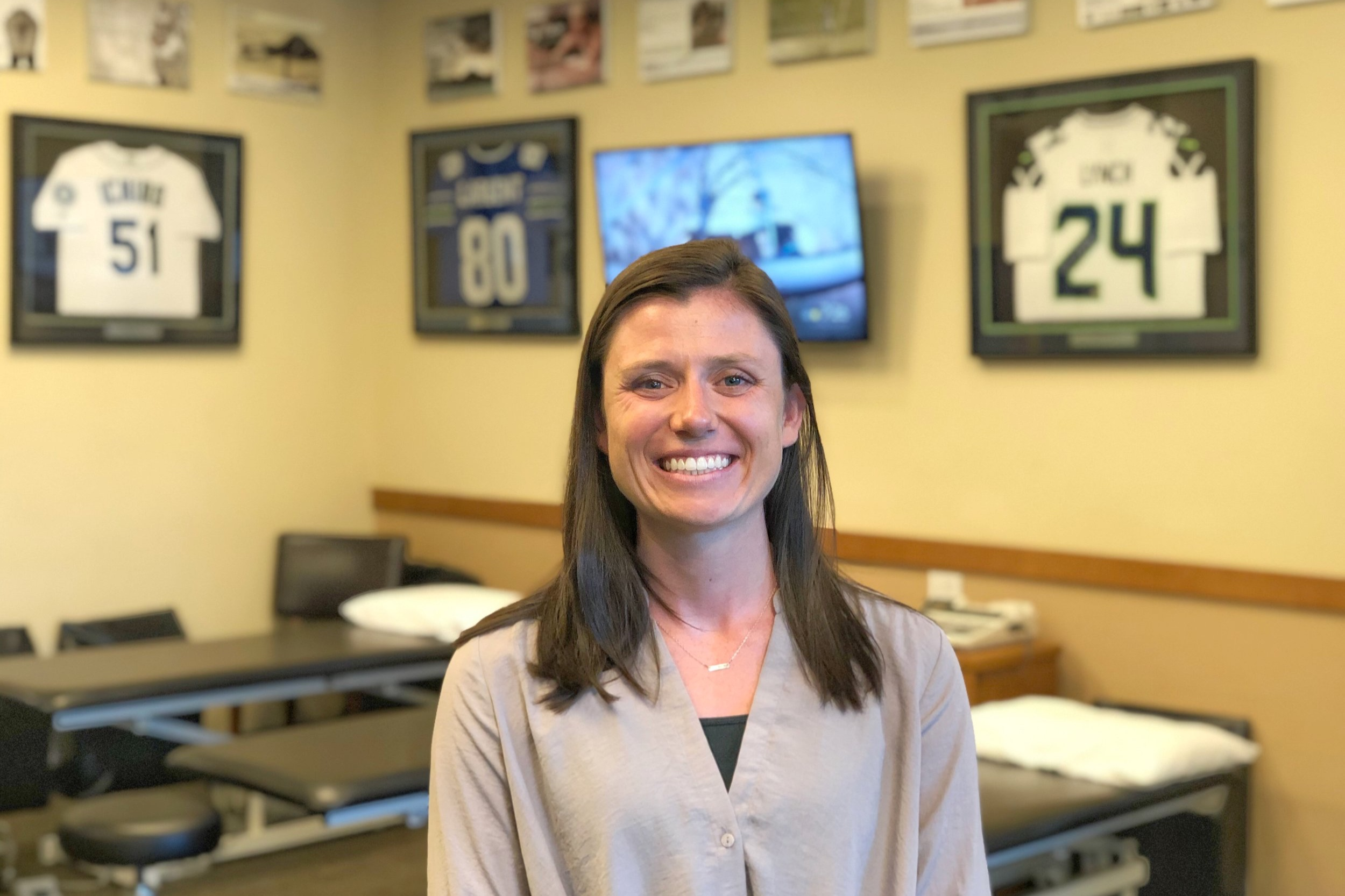 Kerri SmithPT, DPT - Kerri grew up in Kirkland, WA and attended The Overlake School where she played soccer and lacrosse. Kerri met Ben Wobker, Mandie Majerus, and the staff at Lake Washington Physical Therapy initially as a patient where they gave her the tools to continue being active. In the following years, she shadowed Ben and Mandie, which sparked her interest in the career of physical therapy.After high school, Kerri moved south to The University of Puget Sound. During her time at Puget Sound, she competed on the varsity lacrosse team and earned her B.S. in Exercise Science, with an emphasis in Bioethics. Kerri continued shadowing …….Continue »