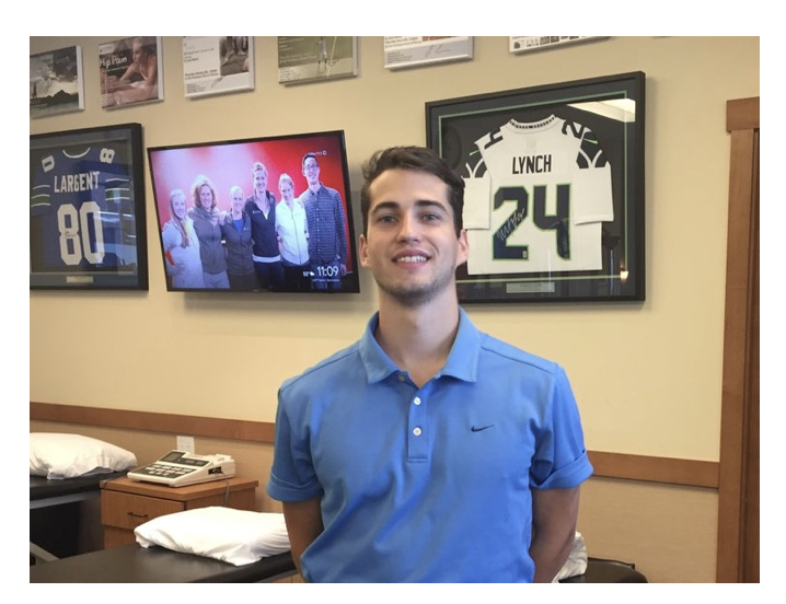 Liam Knox - High School: Lake Washington Undergrad: MSU- BillingsWe welcome LWHS soccer standout and college soccer player Liam Knox to the clinic for the summer. Liam will be shadowing with Mandie and others as he prepares for a future in Physical Therapy. Go Kangs!