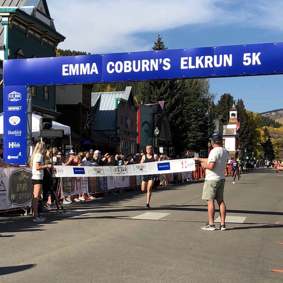 """""""BREAKING THAT TAPE BROUGHT IN A FLOOD OF EMOTIONS—GRATITUDE THAT MY BODY WAS ALLOWING ME TO DO THIS, ELATION THAT RUNNING FELT NATURAL AGAIN, EXCITEMENT FOR WHAT MY FUTURE COULD NOW HOLD."""" -"""