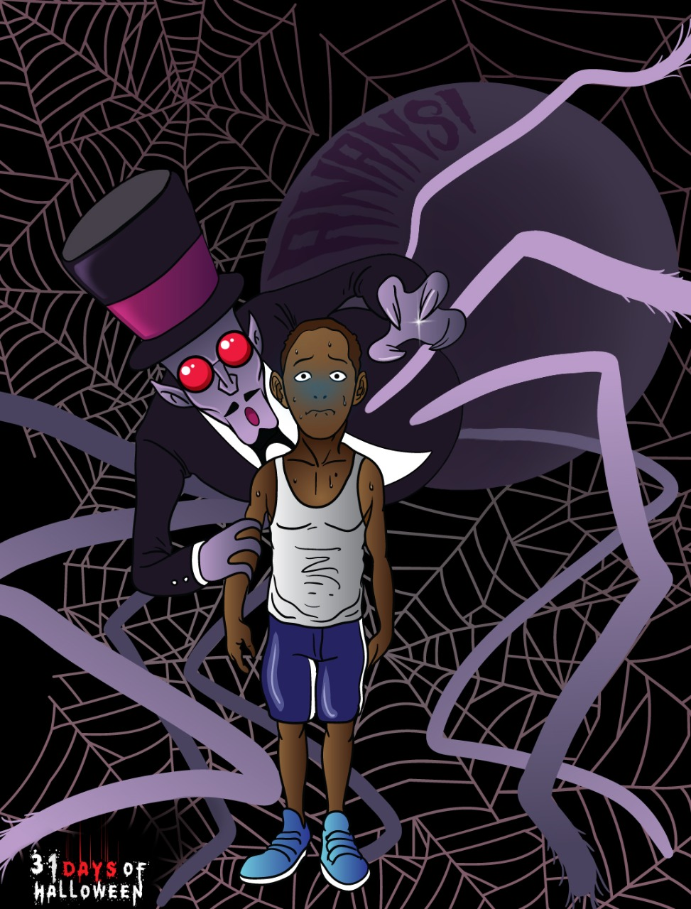 Day 4 - Anansi the Spider (Afro-Caribbean folklore)