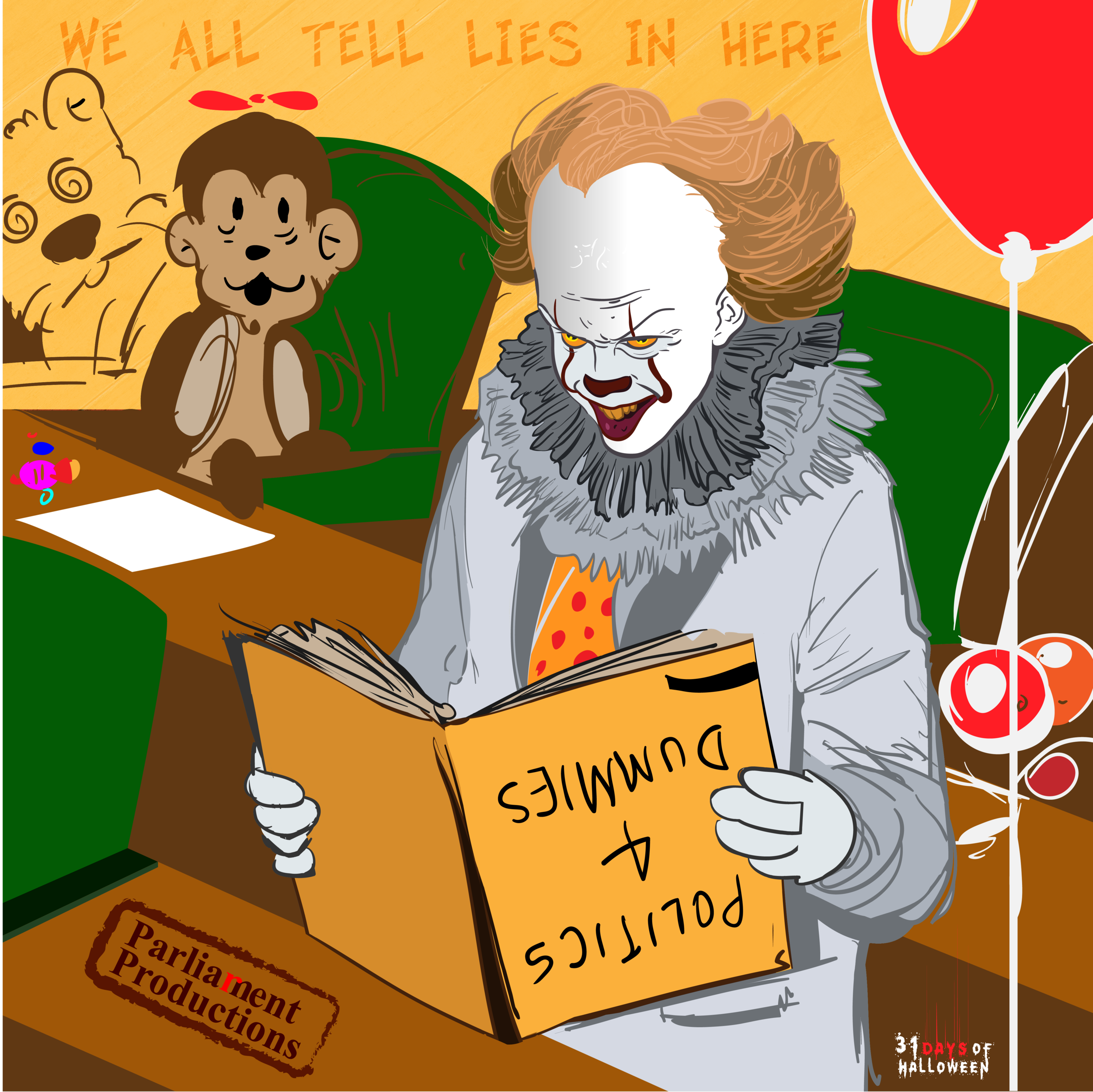 Day 17 - Pennywise the Dancing Clown (IT)