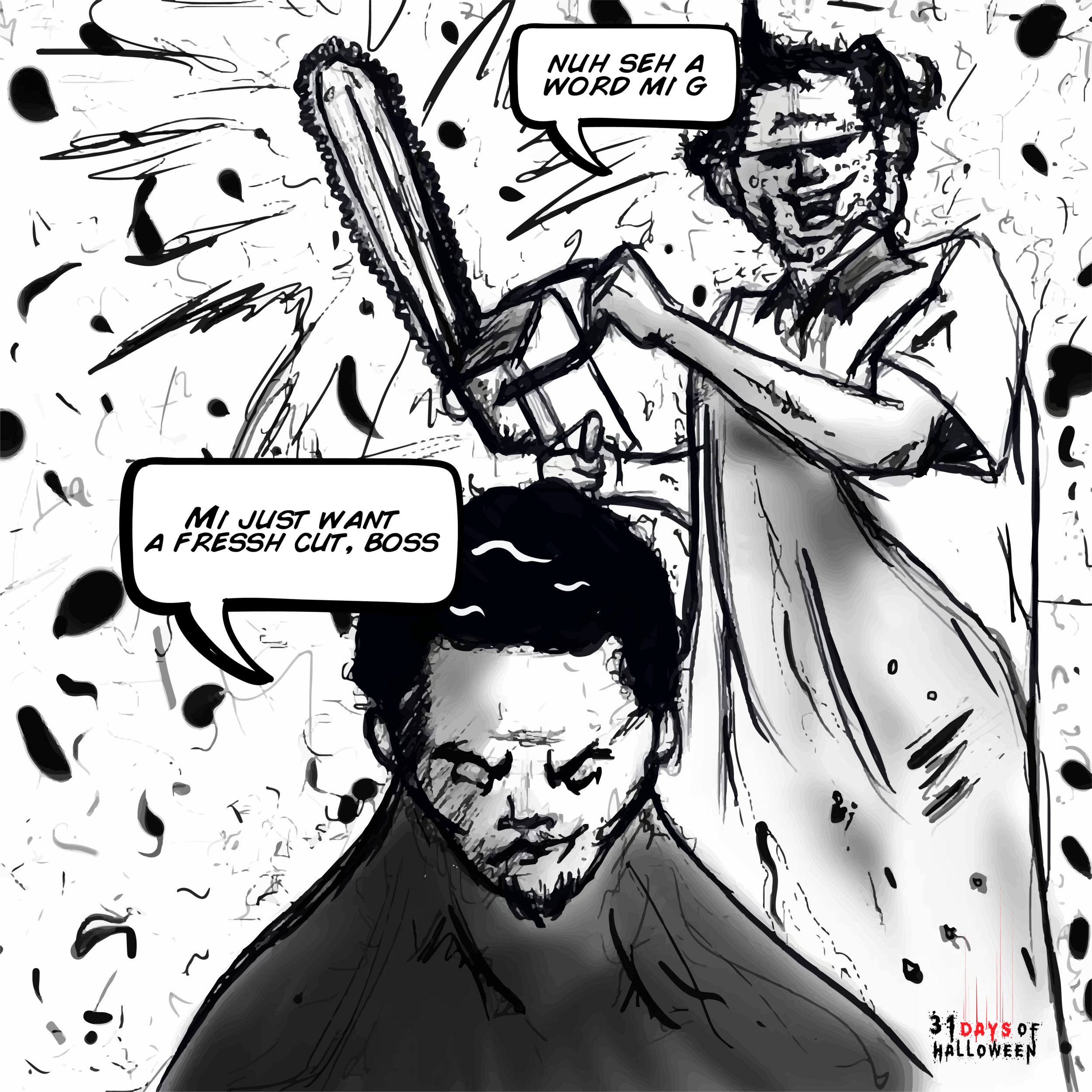 Day 24 - Leatherface (Texas Chainsaw Massacre)
