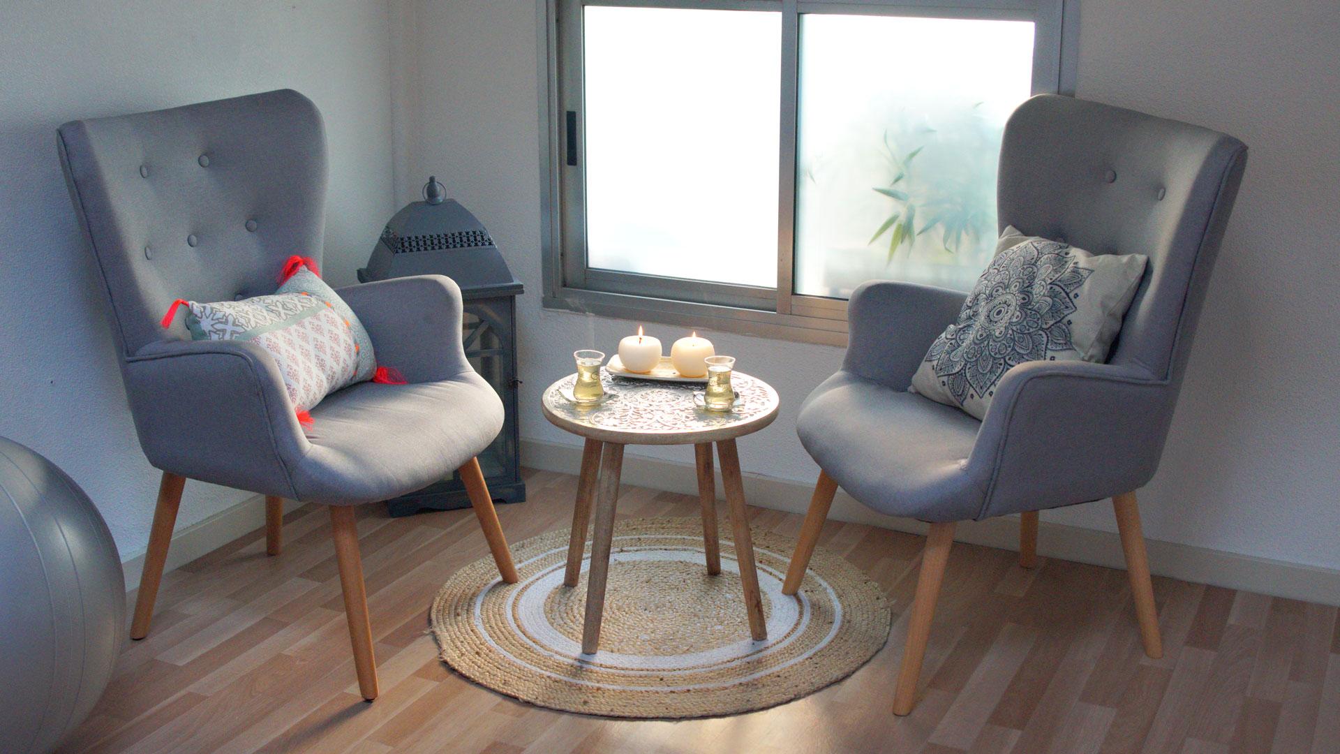 Un espace dédié propice au calme et à la relaxation