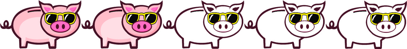 2 Pigs - May save a lot of time, but be expensive or save money but take a lot of time so not worth it.