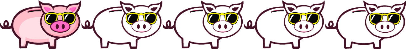1 Pigs - Seemed like a great idea but either takes too much time and/or money to make it worthwhile.