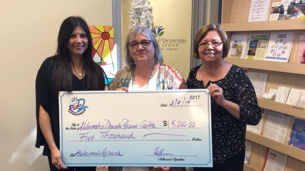 Alzheimer's & Dementia Resource Center Donation