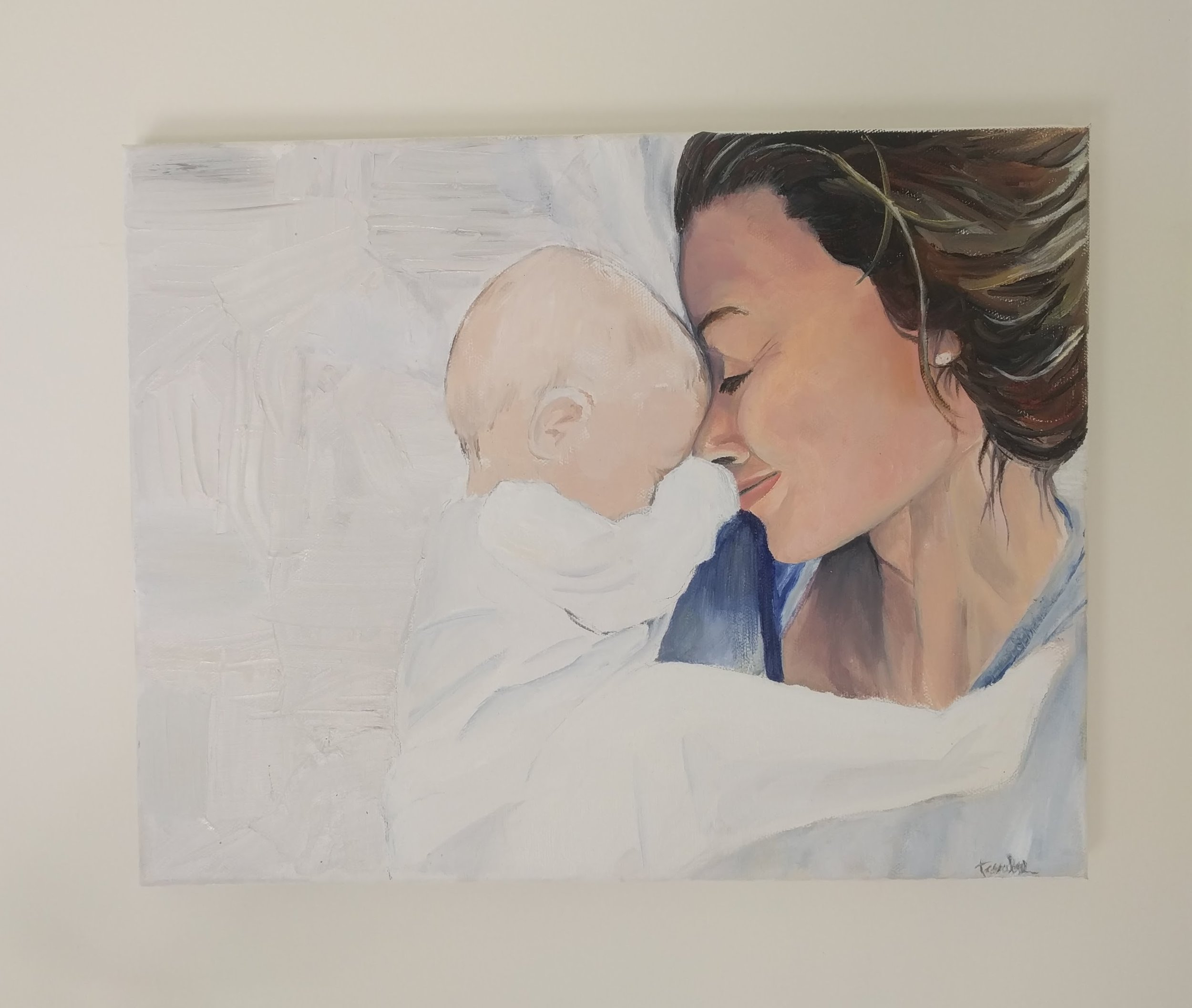 Tessa lee art that love motherhood