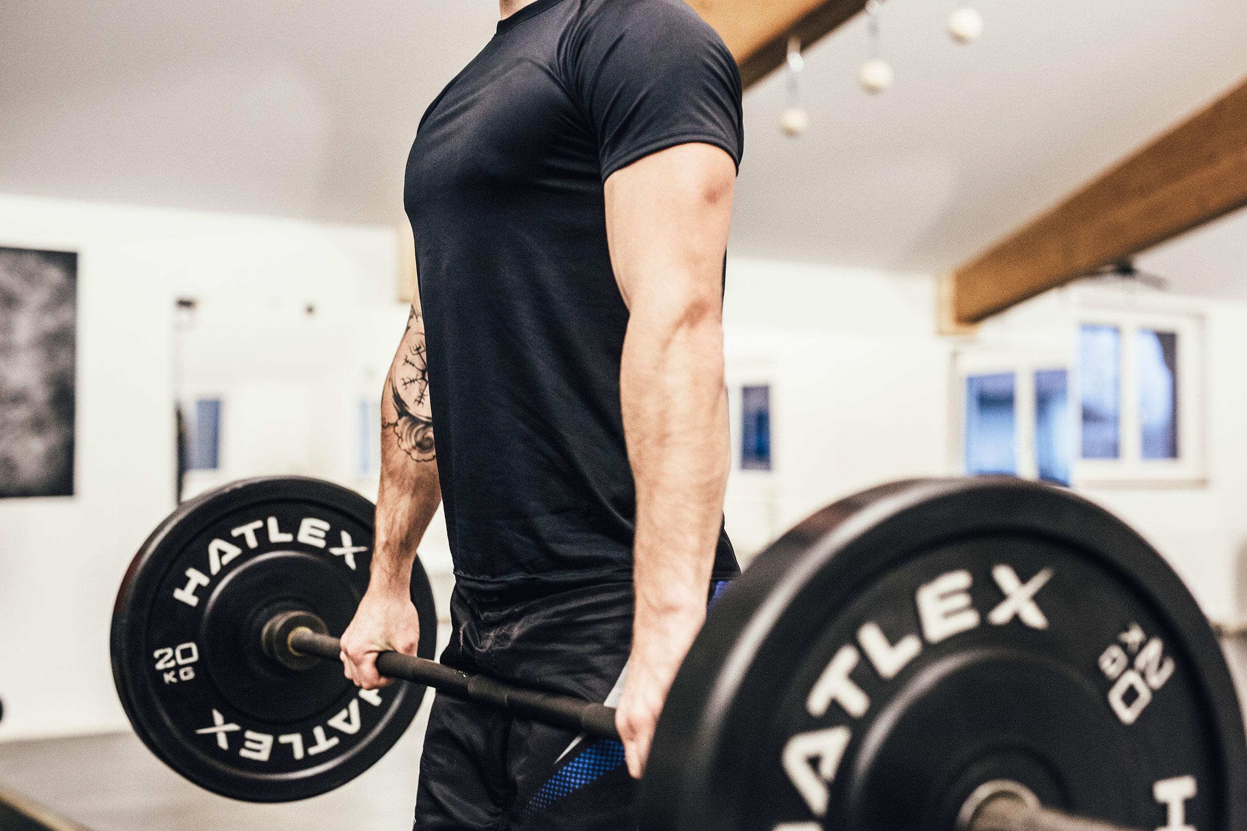 Athletic - Kraftvoller mit gezieltem muskelaufbau training