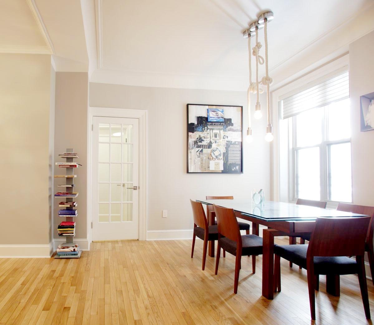 MODERN DESIGN - COLUMBUS AVENUE LIVING & DINING ROOM
