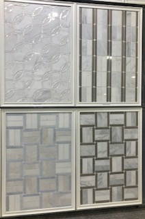 Multi Laser Cut Patterns in Various Stones