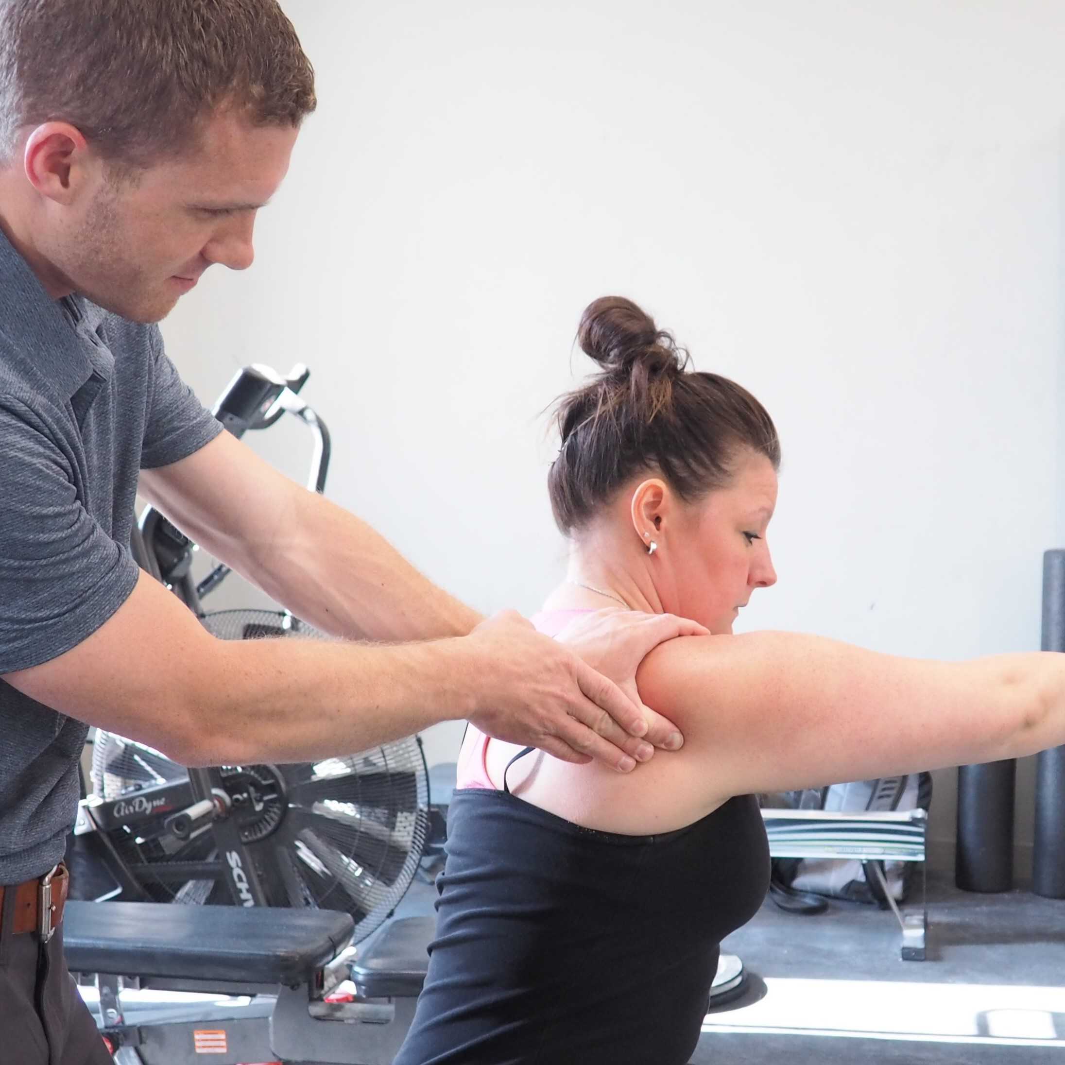 Manual Therapy A.R.T. - This technique uses the provider's hands to evaluate the texture, tightness and movement of soft tissues. Abnormal tissues are treated by combining precisely directed tension with very specific patient movements.