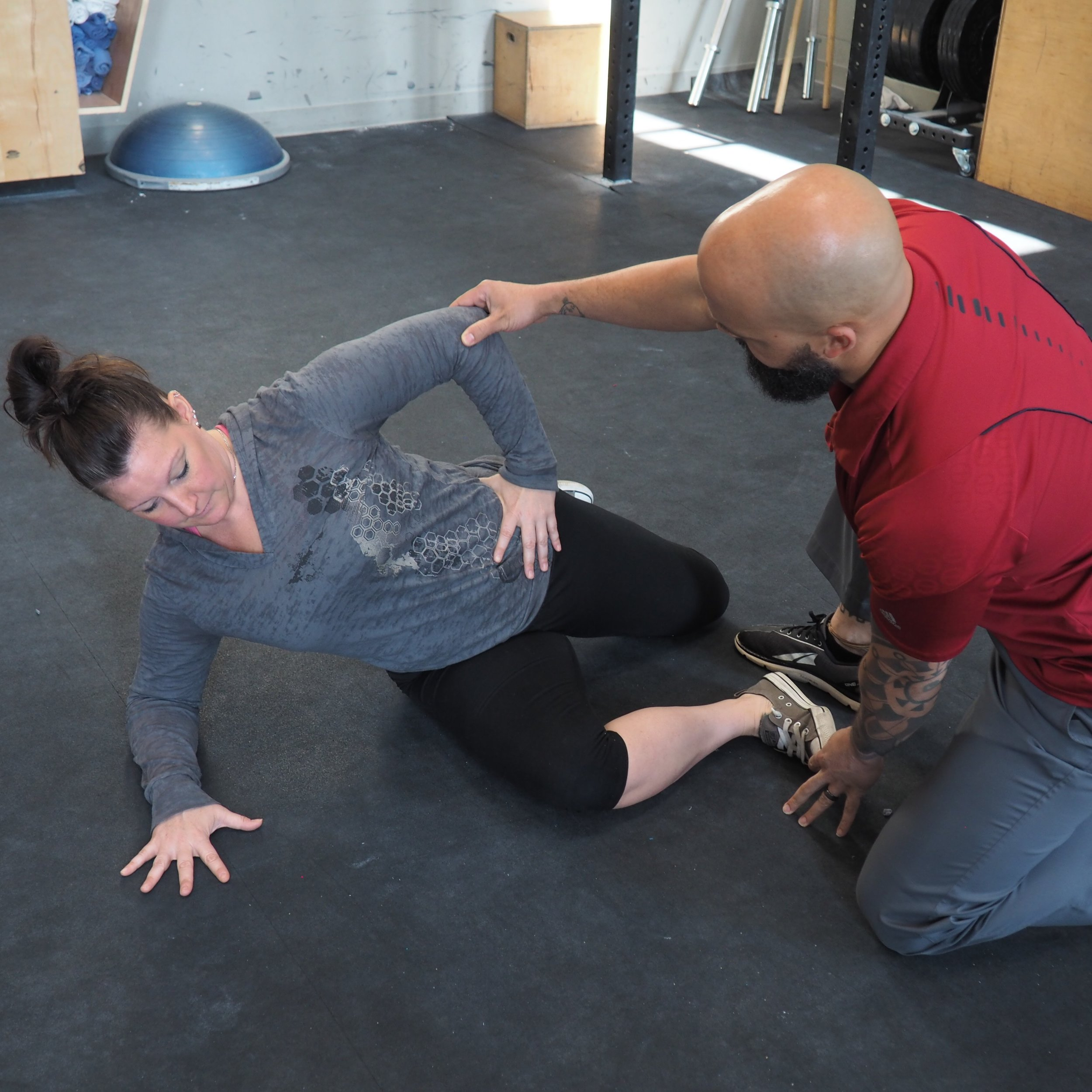Functional Rehabilitation - We custom build a rehabilitative exercise plan for you, then take you, step by step, through it so you know exactly What to do and Why.