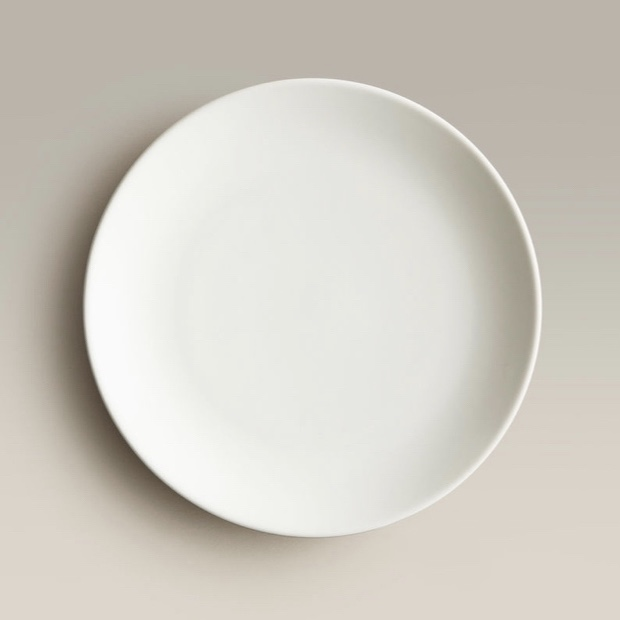 Click to View: White Ceramic Salad Plate