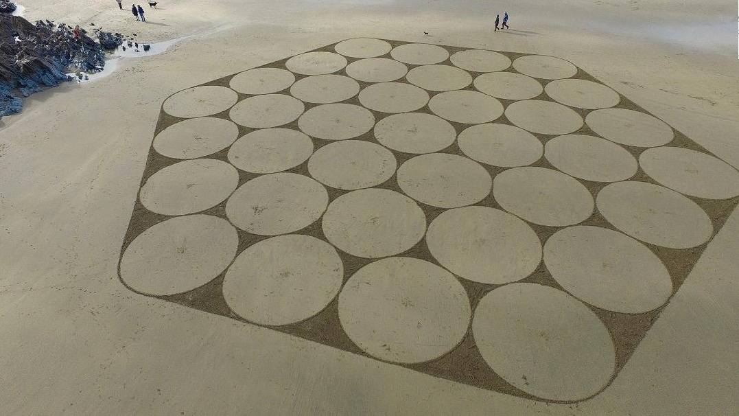 Sand Circles by Marc Treanor