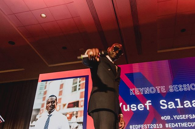 #MOOD after Day 1 of EDFest 2019 courtesy of our Keynote Speaker Dr. Yusef Salaam. *drops mic* 🔥🔥🔥🔥🔥 #EDFest2019 #ED4TheCulture