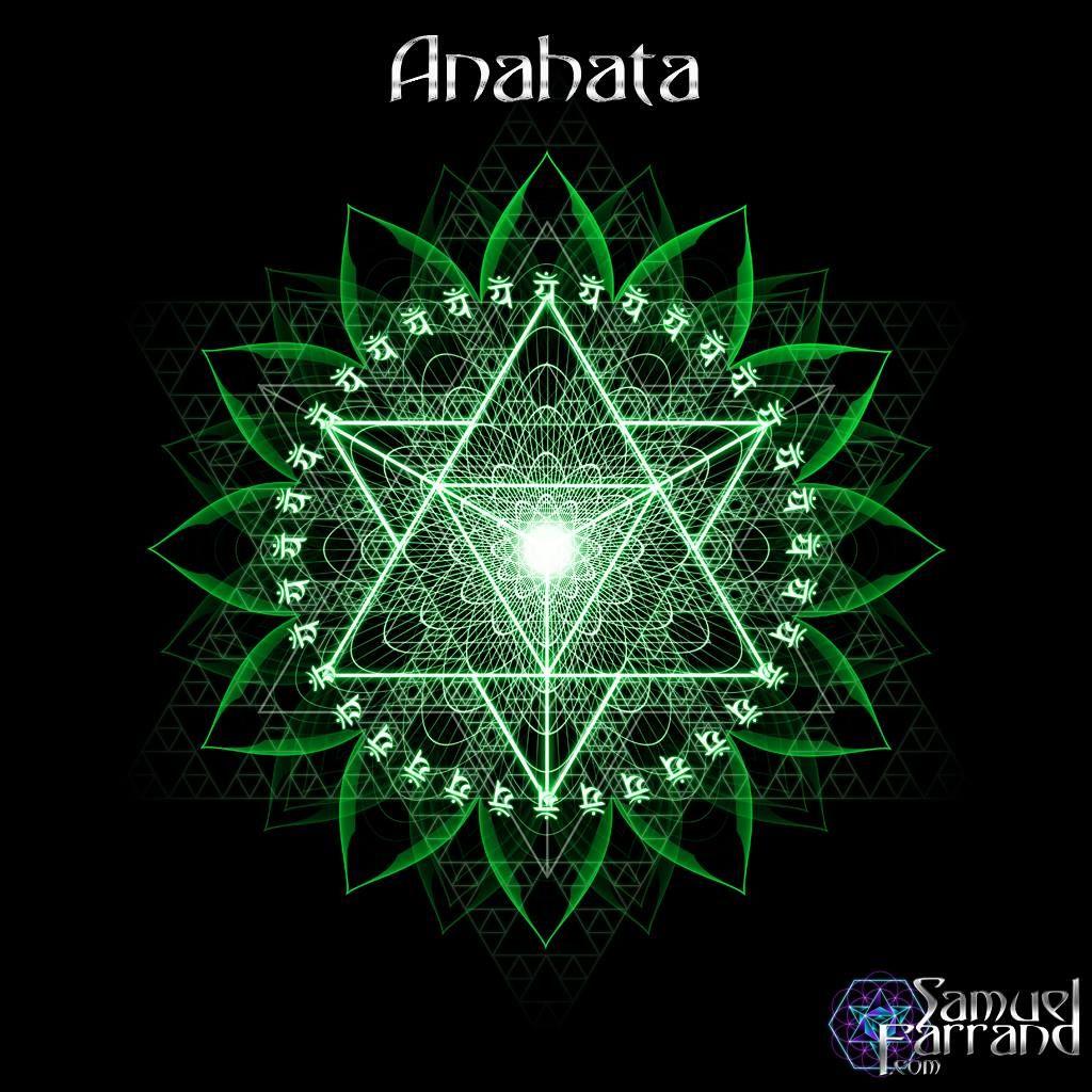 Anahata Chakra Symbol - by Samuel Farrand