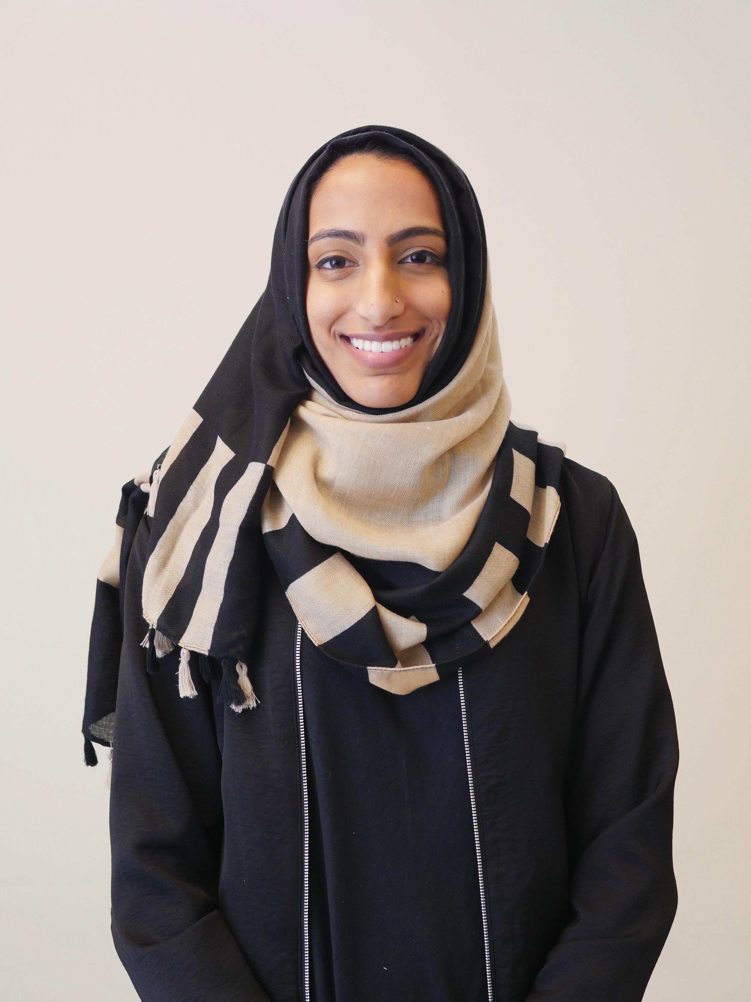 Amnah Sultan Marketing Director