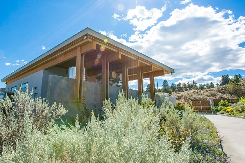 The Winery - Sage Hills Vineyard is situated on a dramatic slope overlooking Okanagan Lake in Summerland, BC. The terrain is harsh and dry with thorny cacti and thatches of fragrant sagebrush watching over the vineyards.Learn More