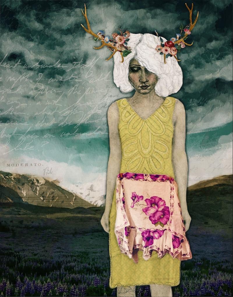 original artwork by contemporary artist Angela Amias