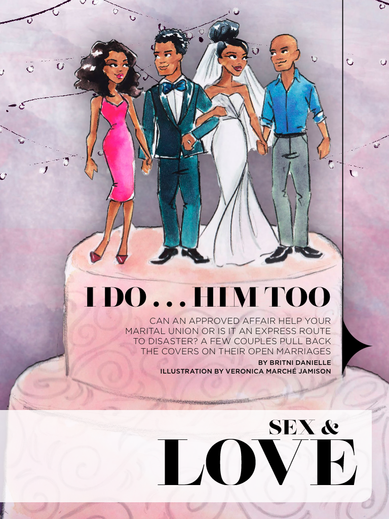 Essence Magazine - Illustration by Veronica Miller Jamison, Veronica Jamison Art