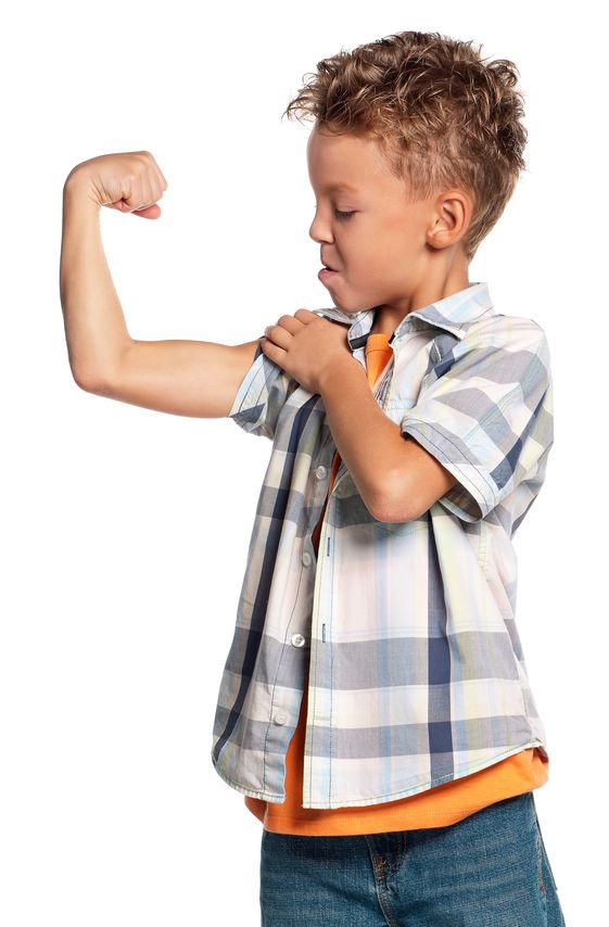 Boy Making Muscle.jpg
