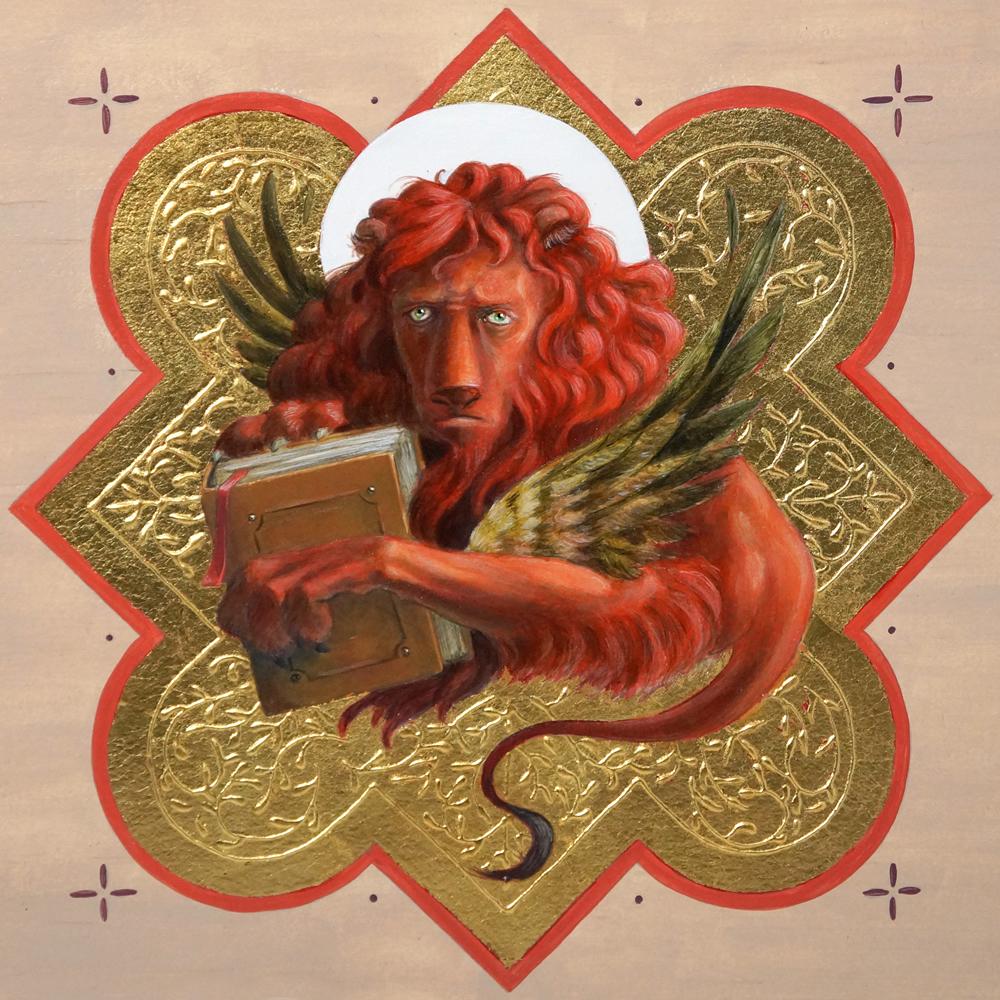 """""""Saint Mark Lion"""" by Michael Genova"""