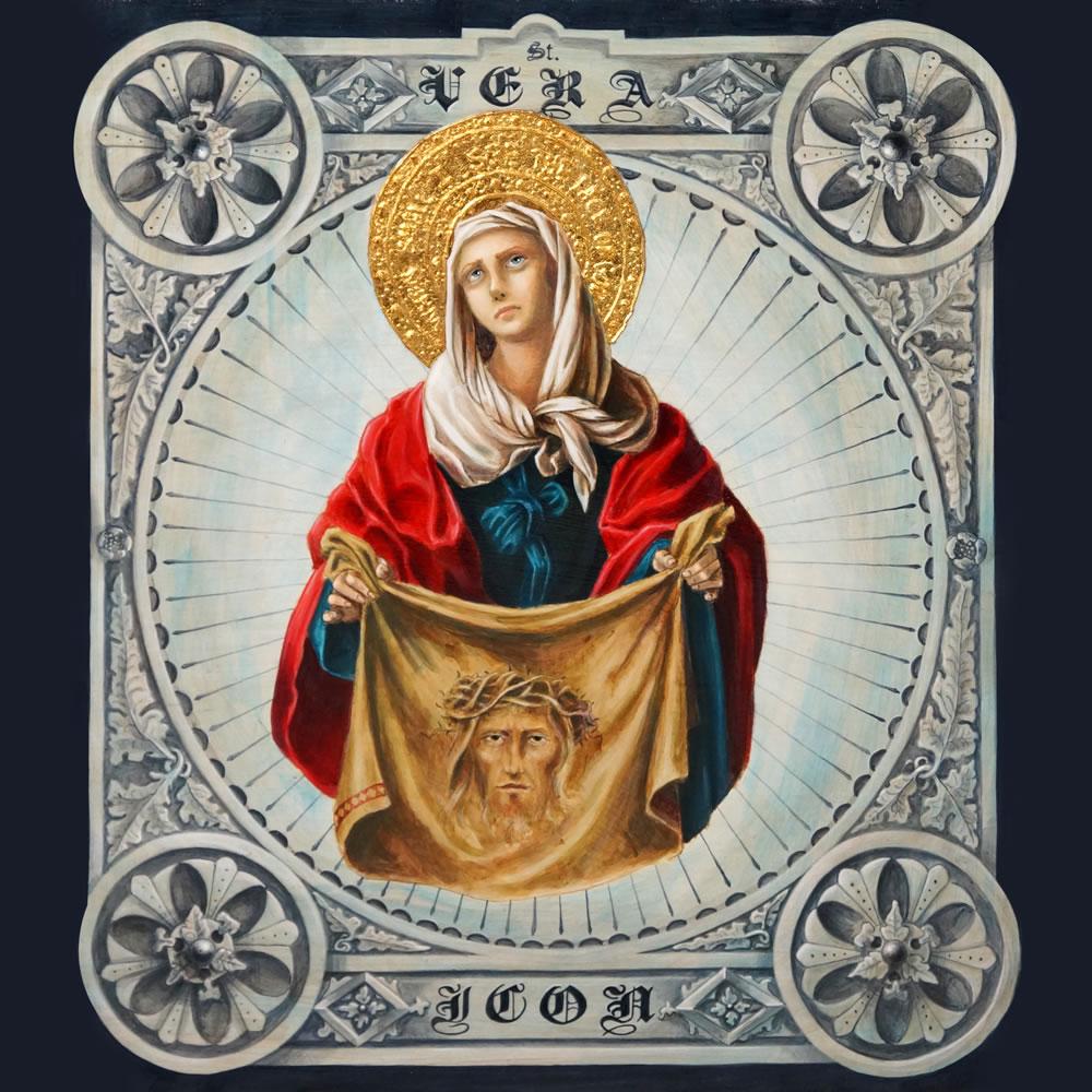"""Saint Veronica "" By Michael Genova"
