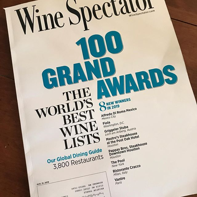 August issue is out! Congratulations @tvogele on a great story! @thewinespectator @lukecolumbiavalleywines #wahlukeslope #winery #livingthedream #drinkwine