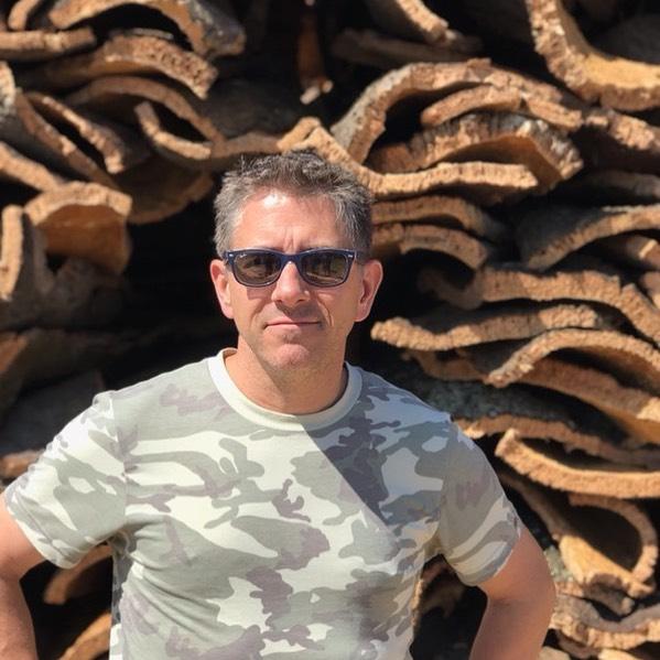 Visiting the cork forests in the Alentejo region of Portugal just south of Lisbon. Thank you @lafitteusa #winecork #wine #wahlukeslope