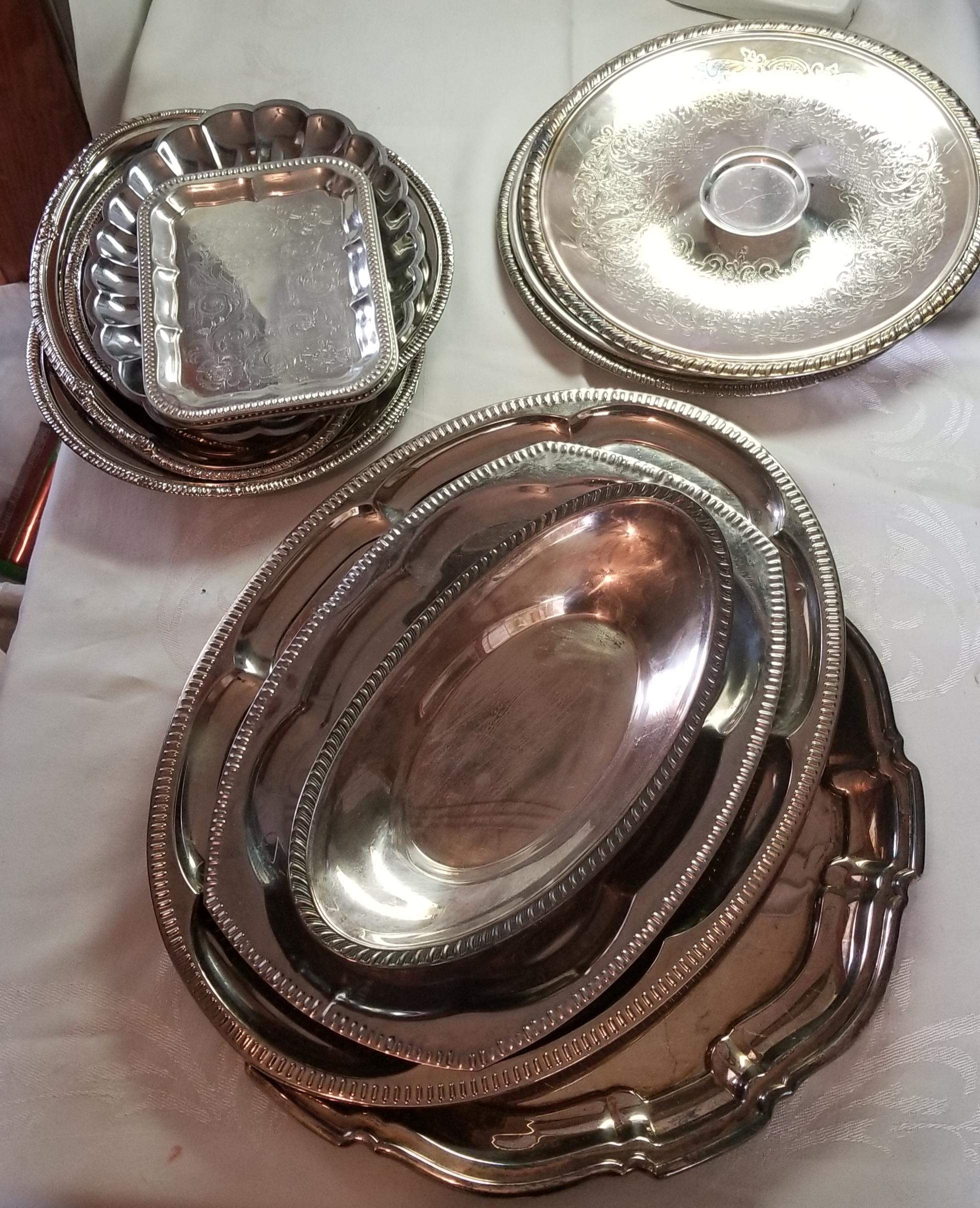 My silver platter haul! -