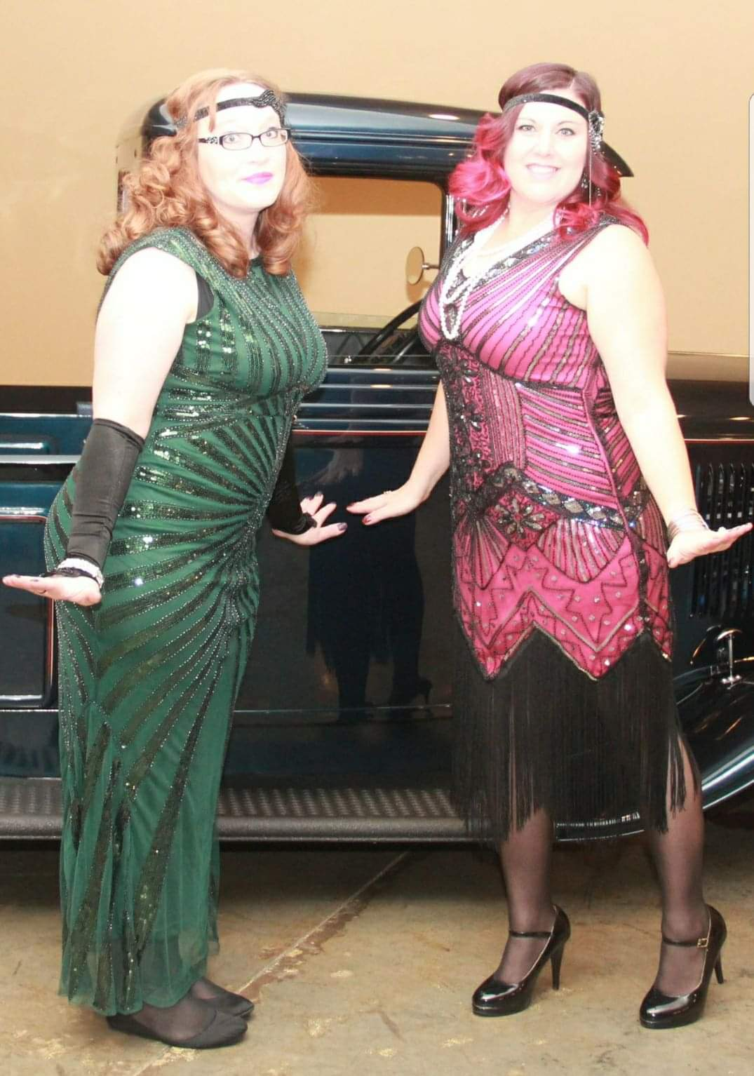 20s party, I was M's date